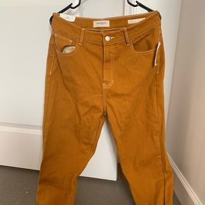 Pacsun Mustard Mom Jeans